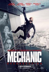 Mechanic Resurrection poster